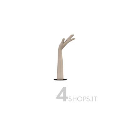 Braccio espositore H 45 cm con base in metallo - Profilo