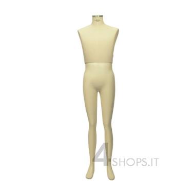 Busto Uomo per silhouette Tailor's