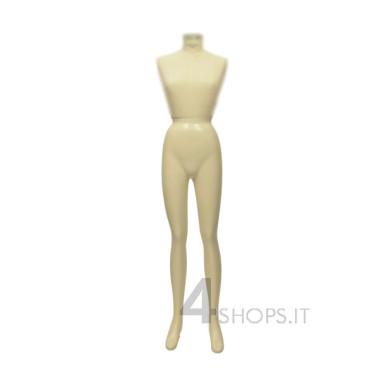 Gambe Donna per silhouette Tailor's laccate avorio
