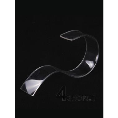 Espositore per cintura in plexiglass trasparente