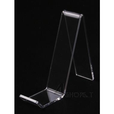 Porta borse plexiglass trasparente medio