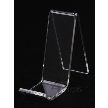 Porta borse plexiglass trasparente piccolo