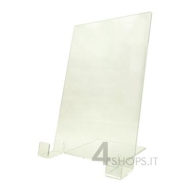 Espositore per camicie in plexiglass trasparente