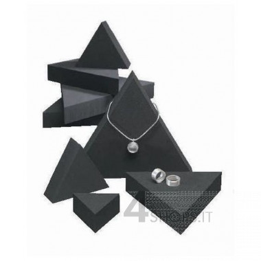 Set 3 display a triangolo per gioielli