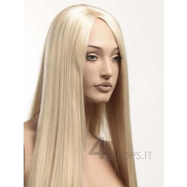 Parrucca donna bionda liscia