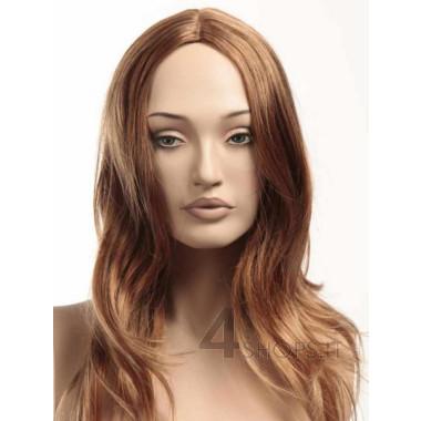 Parrucca donna rame chiaro liscia