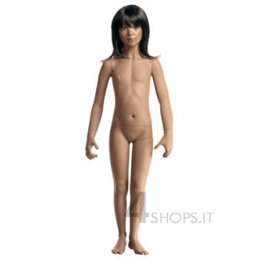 """Manichino bambina 6 anni realistico collezione """"girotondo"""" pos.D"""