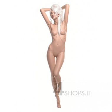 Manichino Donna tg.42 realistico con make up pos.11