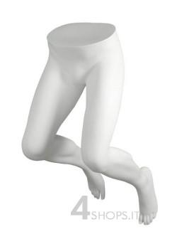 Gambe Uomo da parete precolorate bianco