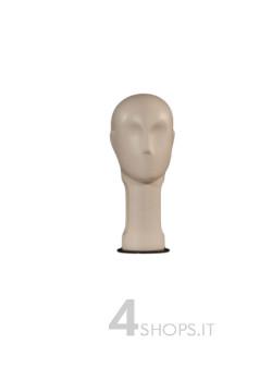 Testa donna astratta avorio - Fronte