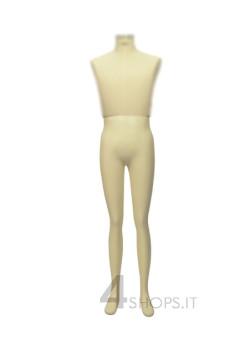 Gambe Uomo per silhouette Tailor's laccate avorio