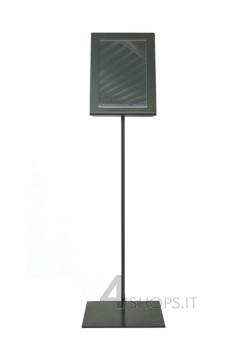 Espositore per prezzi in metallo brunito h. 50 cm.