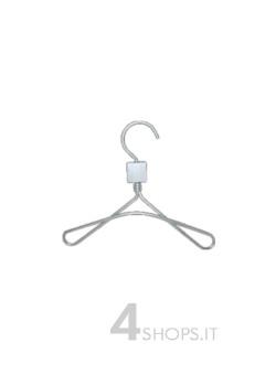 Gruccia bimbo cm 20 in alluminio - Fronte