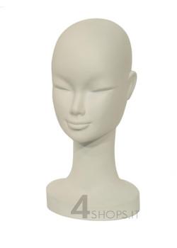 Testa Donna bianca/nera