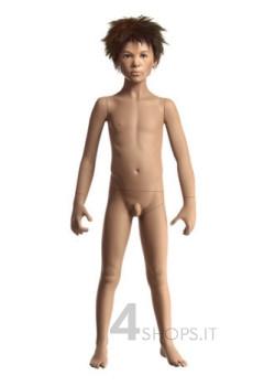 """Manichino bambino 6 anni realistico collezione """"girotondo"""" pos.E"""